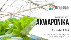 Kragdag Inleiding tot akwaponika